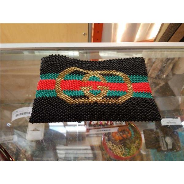 Glass bead repro Gucci purse