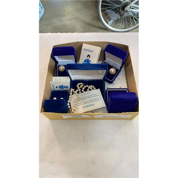 Box of new kimono jewelry