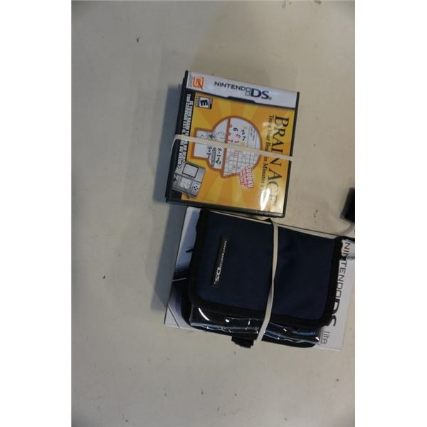 New Nintendo DS lite with 3 games