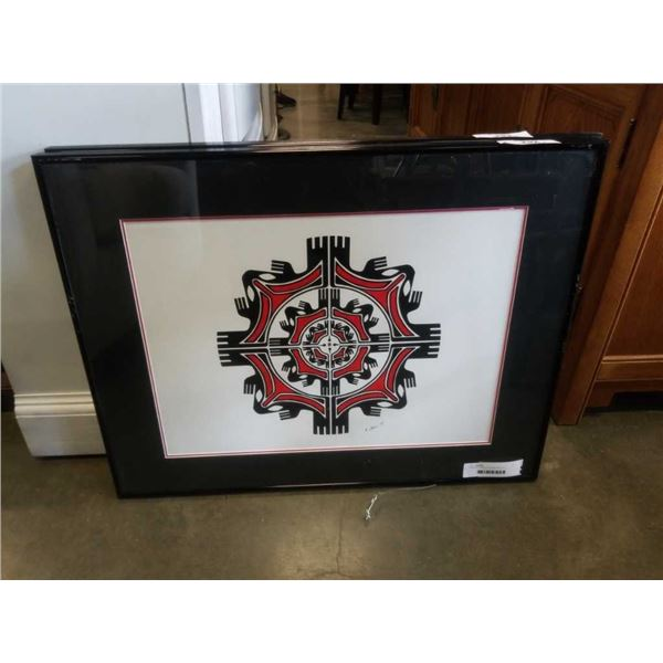 ORIGINAL FIRST NATIONS ART BY R SPENCE
