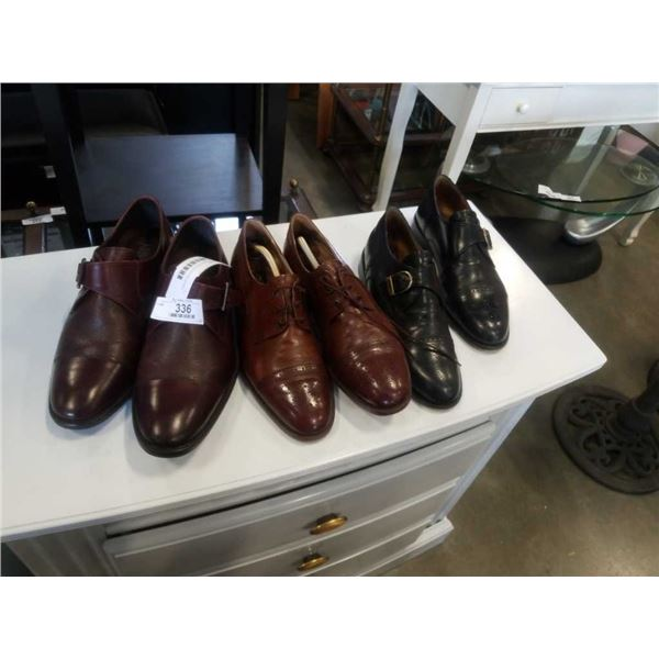 FABIOS, BROWNS ITALIAN DRESS SHOES AND AIDEN AND MASON LEATHER DRESS SHOES