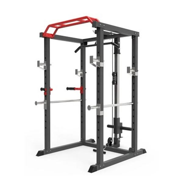 BRAND NEW ALL-IN-ONE TRAINING SYSTEM - SQUAT RACK, PULL MACHINE, LAT MACHINE, PULL-UP AND DIP BARS,