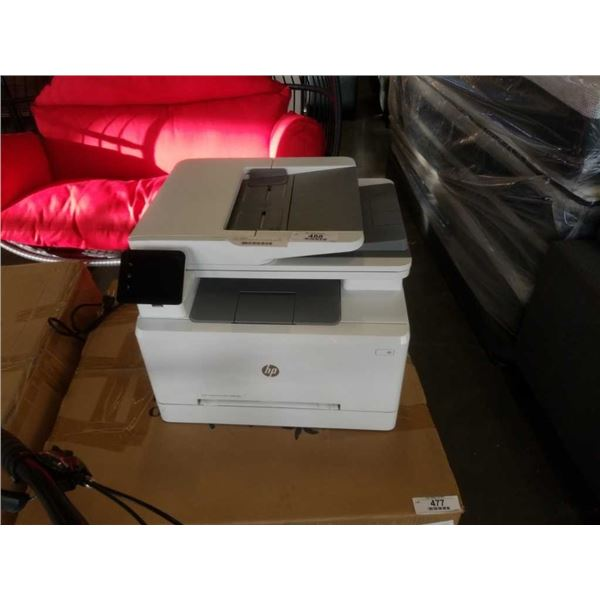 HP COLOUR LASER JET PRO MFP M 283FDW PRINTER - TESTED AND WORKING