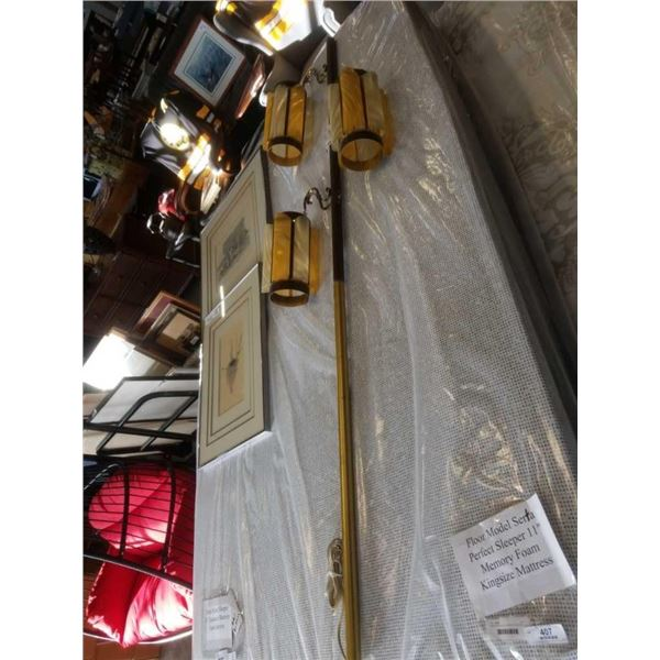 VINTAGE POLE LAMP - AS FOUND