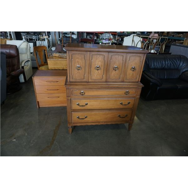 VINTAGE 5 DRAWER CHEST OF DRAWERS
