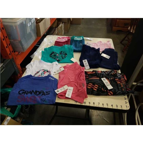 Lot of brand new size 2T clothing