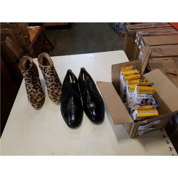 MENS DRESS SHOES AND LADIES HEELS AND EARWAX CLEANERS