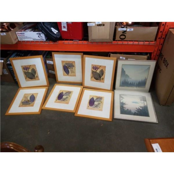 LARGE BOX OF PRINTS AND ARTWORK
