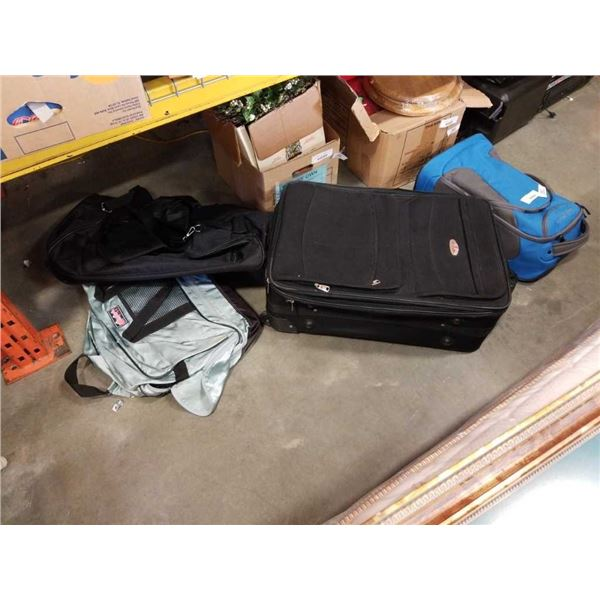 EDDIE BAUER LUGGAGE BAG AND OTHER BAGS