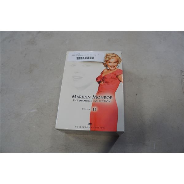 MARILYN MONROE DVD BOX SET - THE DIAMOND COLLECTION VOLUME 2