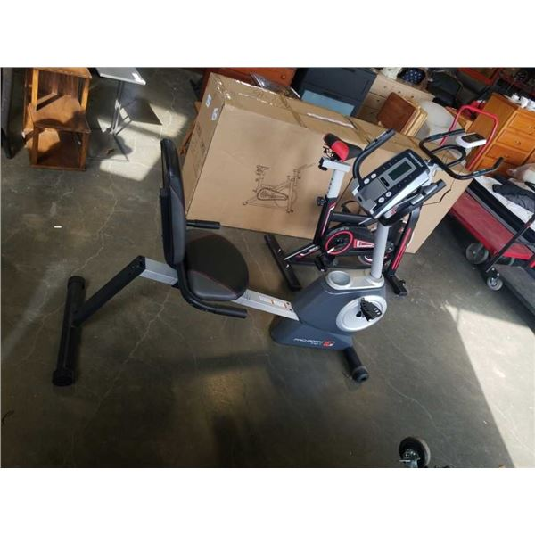 DOES NOT WORK PRO FORM 110 RECUMBENT EXERCISE BIKE - SCREEN DOES NOT WORK