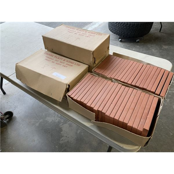 "5 BOXES OF TERRA COTTA TILE 8""X 4"""