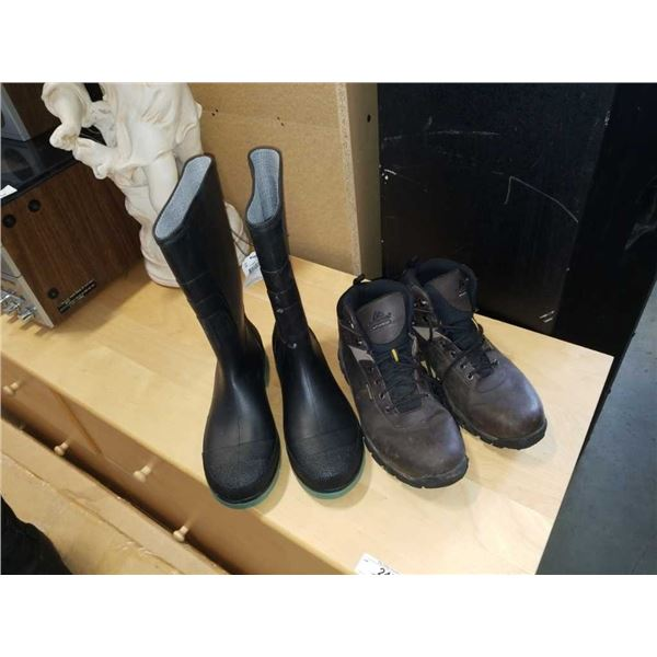 As New Ozark Trail waterproof size 11 impermeable boots and rubber boots