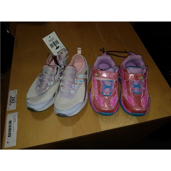 As New girls size 11 and size 8 shoes