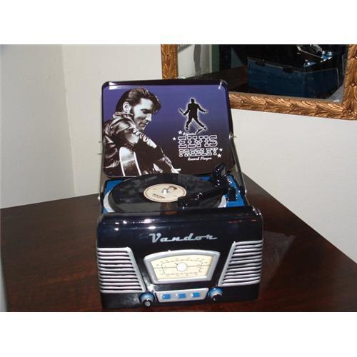 Elvis Presley Record Player Cookie Jar #1637136