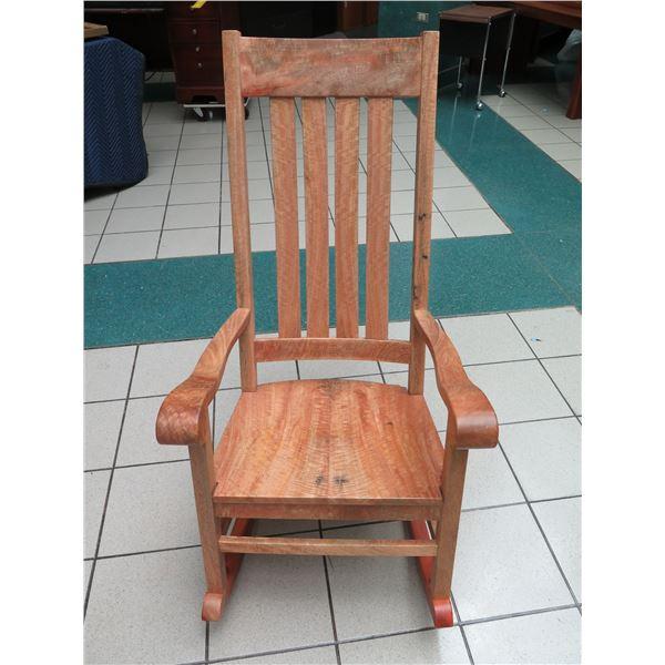 "Mango Rocking Chair 24"" x 22"" x 45"" Back Ht."