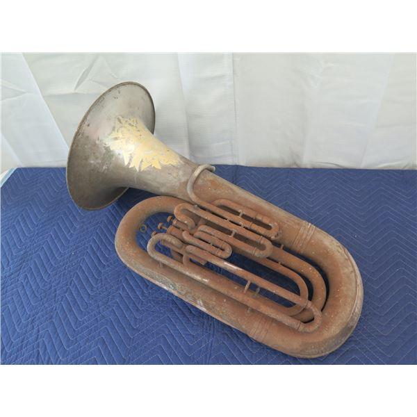 Baritone From Circa 1904, Portuguese Concordia Band, Territory of Hawaii