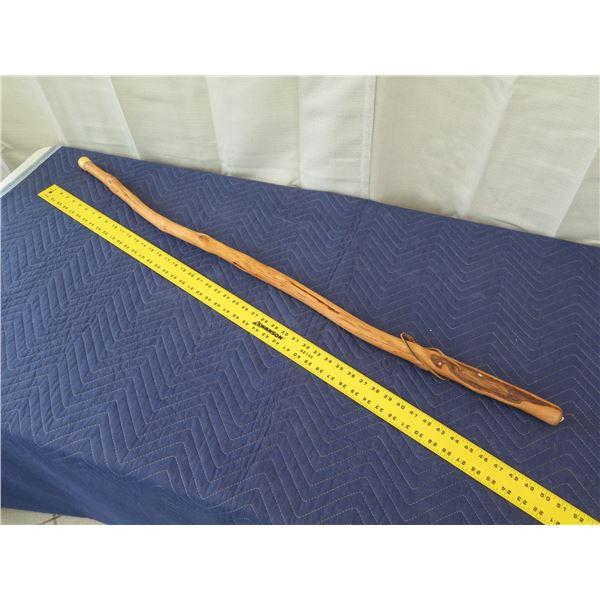 "Wooden Walking Stick, Approx. 49"" Long"