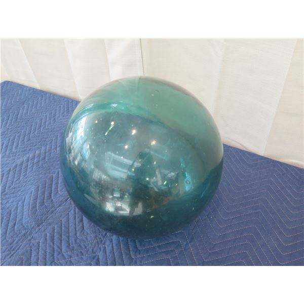 """Large Vintage Glass Ball Float, Approx. 14"""" Dia."""