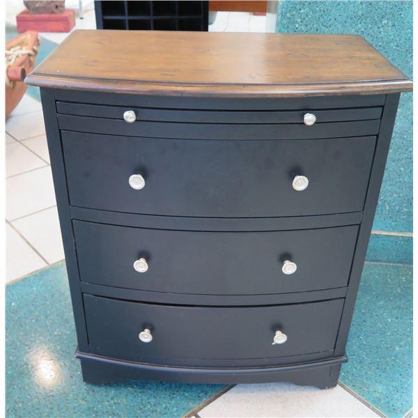 """3-Drawer Wooden Chest (Dresser) 24"""" x 14"""" x 28""""H"""