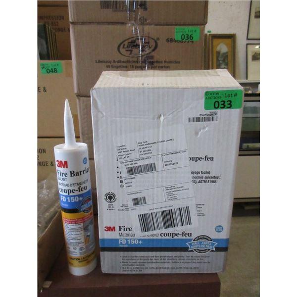 Case of 12 x 300 ml 3M Fire Barrier Sealant