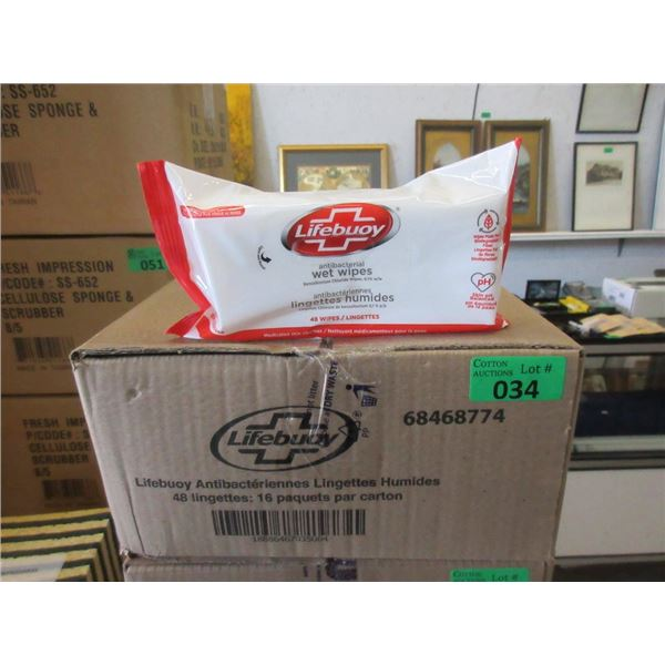 Case of Lifebuoy Antibacterial Wet Wipes