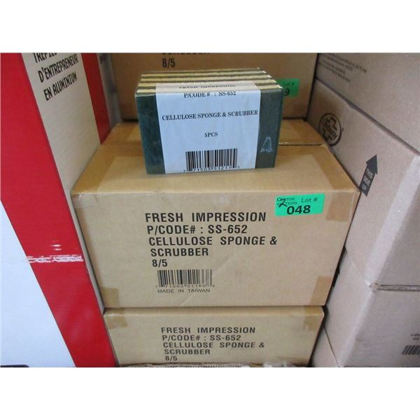 2 Cases of Cellulose Sponge/ Scrubbers