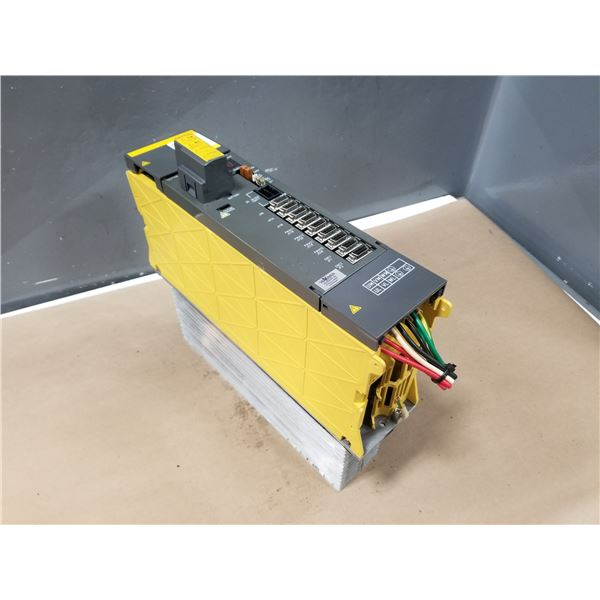 FANUC A06B-6079-H208 SERVO AMPLIFIER MODULE (CRACKED HOUSING) *SEE PICS FOR DETAILS*