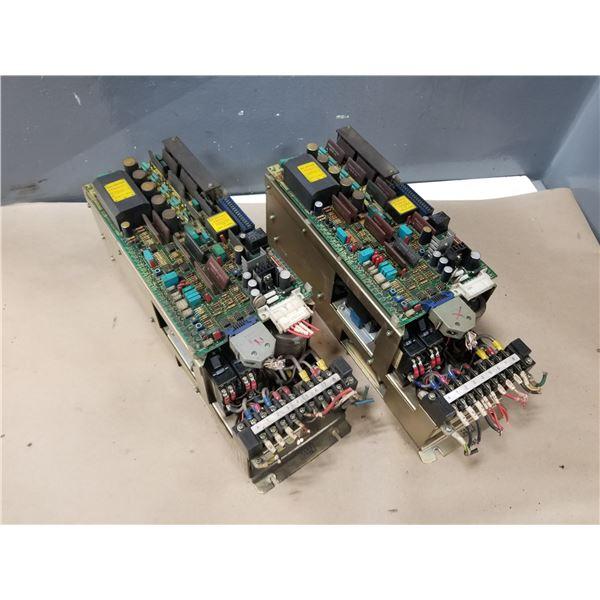 (2) FANUC A06B-6047-H003 VELOCITY CONTROL UNIT