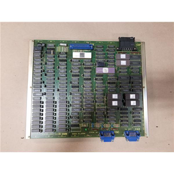 FANUC A20B-1000-0480/04A OPERATOR CONTROL CIRCUIT BOARD