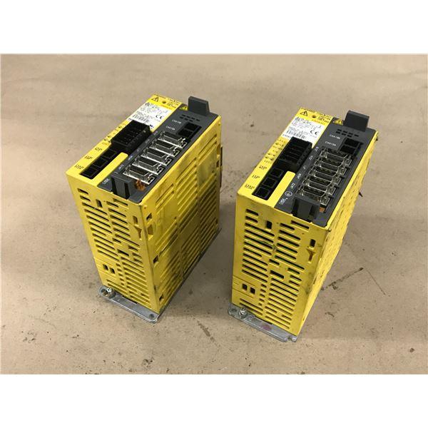(2) FANUC A06B-6132-H002 SERVO AMPLIFIER MODULE