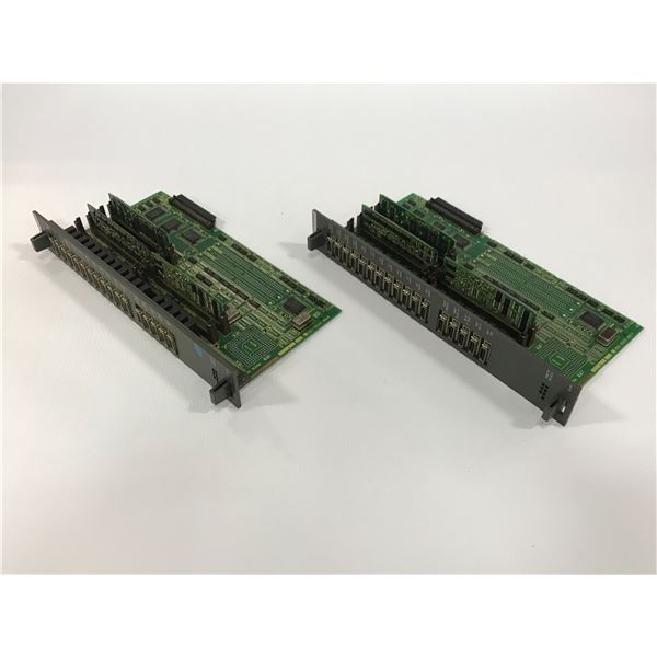 (2) FANUC A16B-2200-0931/07B CIRCUIT BOARD