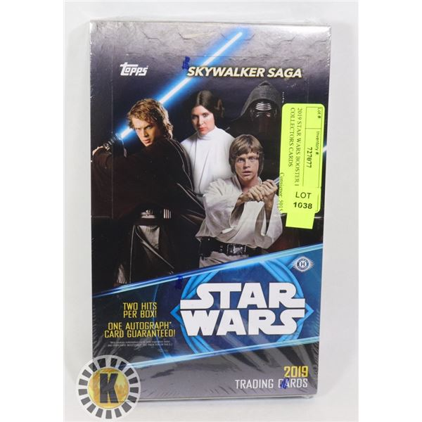 2019 STAR WARS BOOSTER BOX OF COLLECTORS CARDS