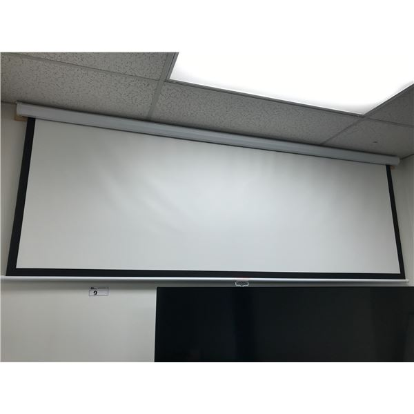 8' PULL DOWN PROJECTOR SCREEN