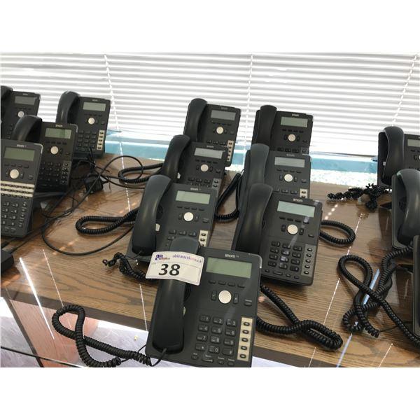 7 SNOM 7 SERIES VOIP PHONE HAND SETS