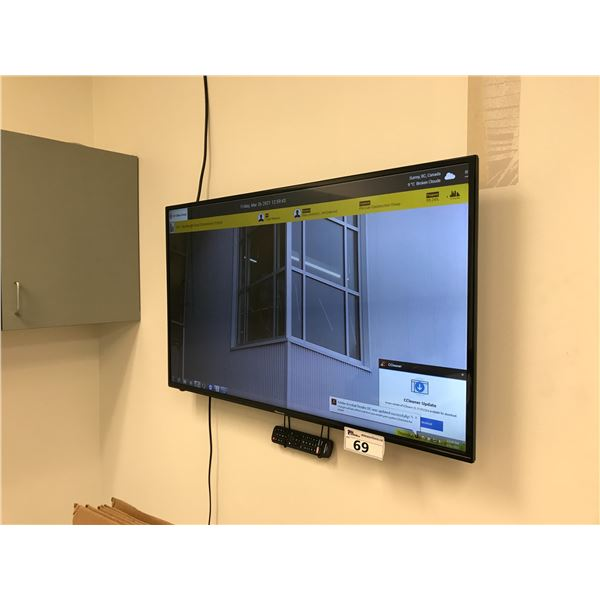 """HI SENCE 42"""" SMART LCD TV COMES WITH WALL MOUNT"""