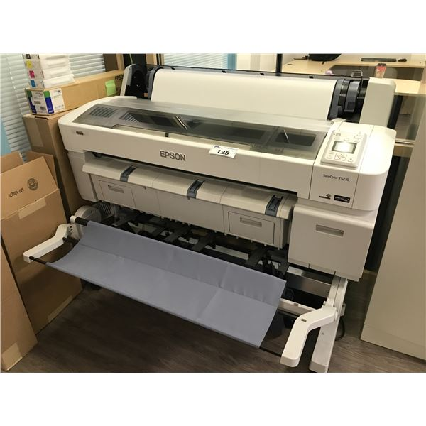 EPSON SURE COLOUR T5270 WIDE FORMAT PRINTER WITH SUPPLIES