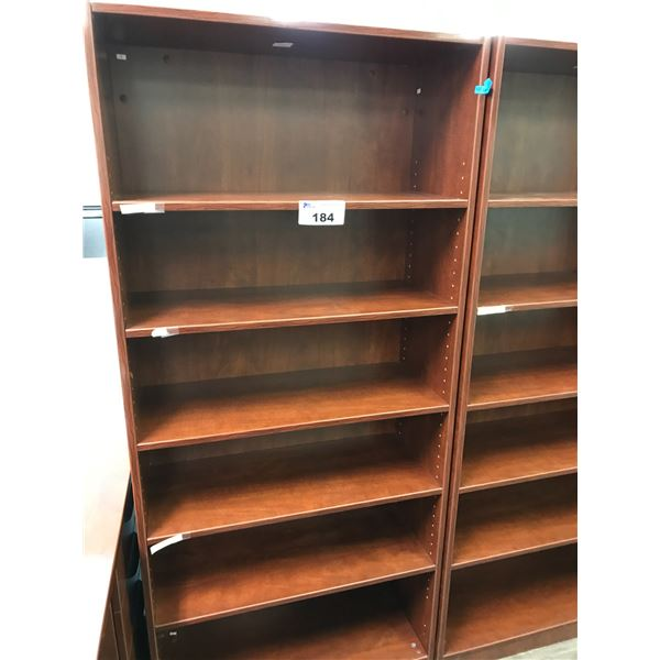 AUTUMN MAPLE 6' BOOKCASE