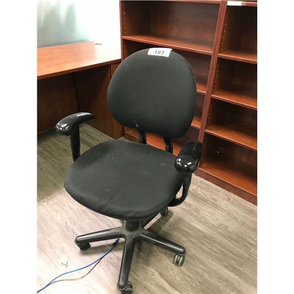 BLACK STEELCASE CRITERION TASK CHAIR