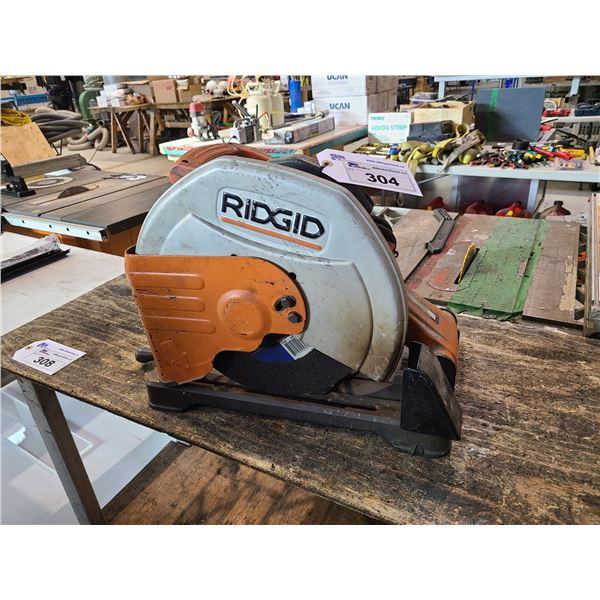 """RIGID CM14500 14"""" ABRASIVE CUT-OFF CHOP SAW"""