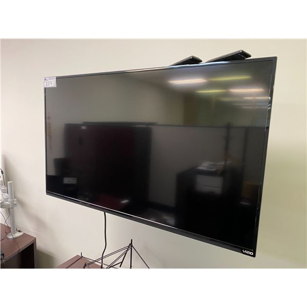 """VIZIO 39"""" TELEVISION WITH ARTICULATING WALL MOUNT AND REMOTE"""