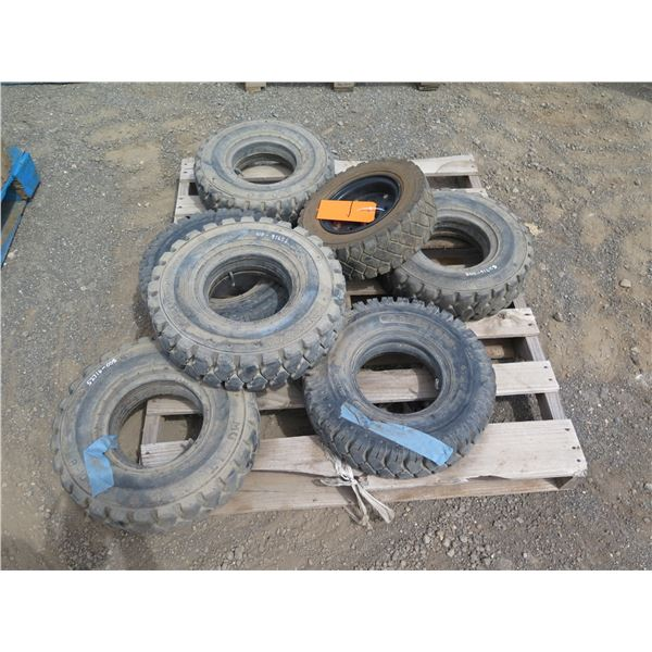 Contents of Pallet: Misc. Tires