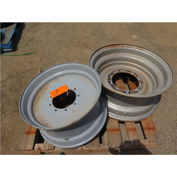 Qty 2 Used Tire Rims