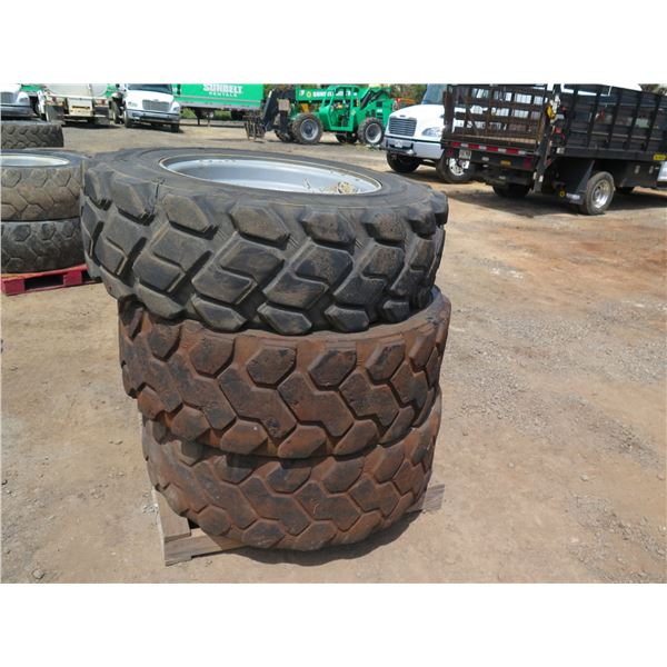 Qty 3 Camso 400/75-28 Tires with Rims