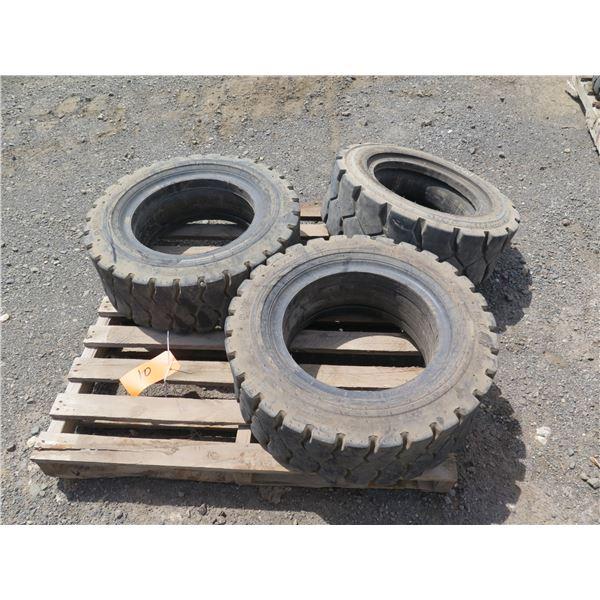 Qty 3 Tires 8.15-15