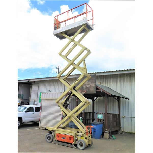2014 JLG 2630ES Scissor Lift, 26-Ft, 156 Hours - Runs & Lifts (See Video)