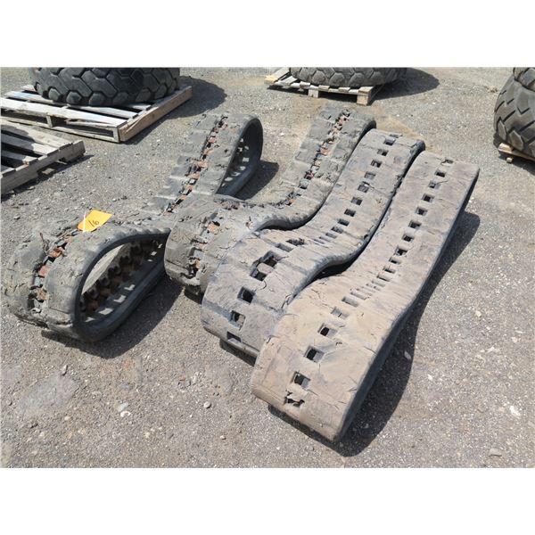 Qty 4 Mini Excavator Tracks