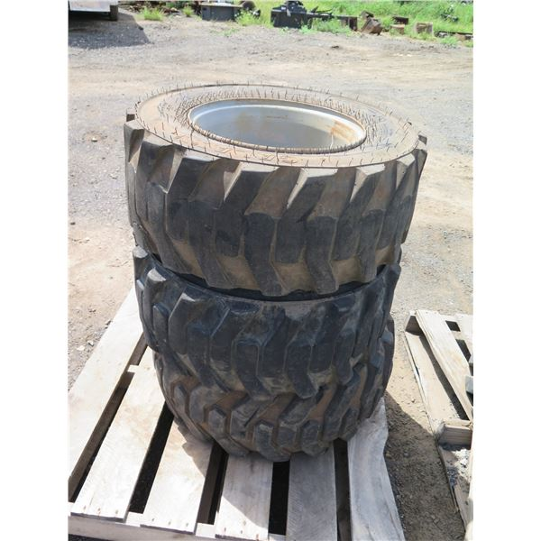Qty 2 Galaxy 12x16.5 Tires with Rims