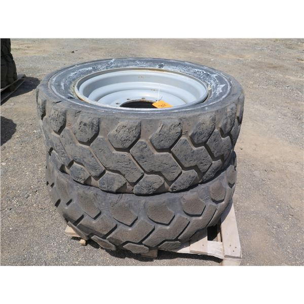 Qty 2 Firestone Tires with Rims