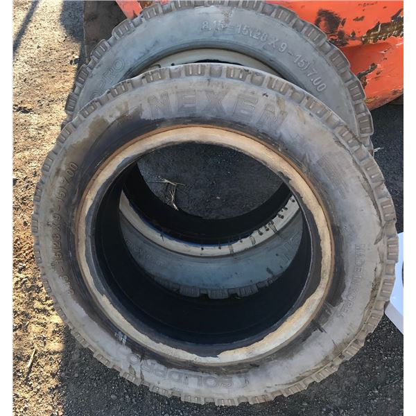 Warehouse Forklift Tires -Solid -8.15-15 (28x9-15) 7.00